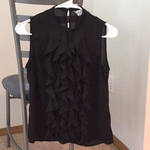 H&M Sz 4 ruffle sleeveless blouse